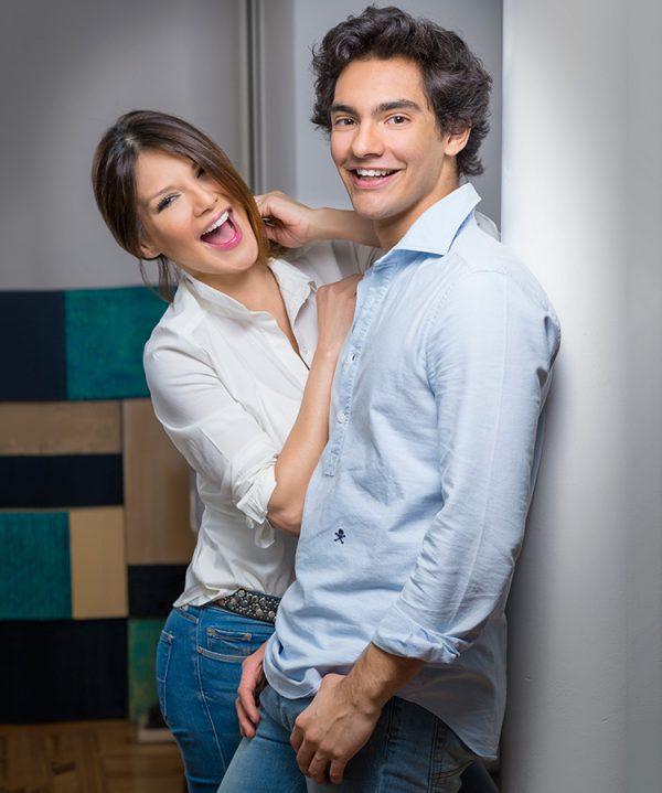 Ivonne y Alejandro Reyes Fotografía cortesia de Carlos Marques @fotocarlosm
