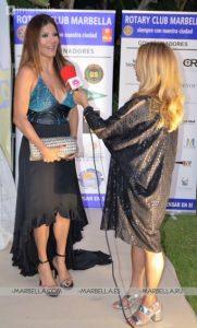 Ivonne Reyes en Rotary Club Marbella 004