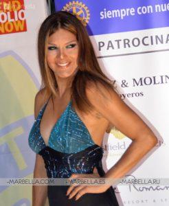 Ivonne Reyes en Rotary Club Marbella 007