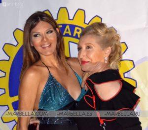 Ivonne Reyes en Rotary Club Marbella 011