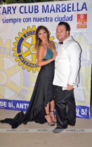 Ivonne Reyes en Rotary Club Marbella 012