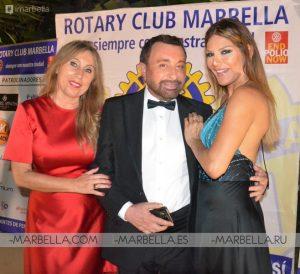 Ivonne Reyes en Rotary Club Marbella 013