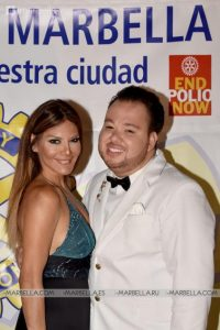 Ivonne Reyes en Rotary Club Marbella 017