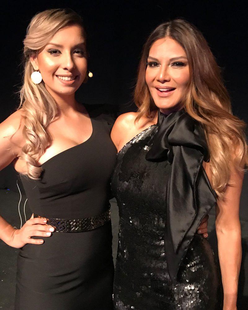 Ivonne Reyes y Dania Diaz