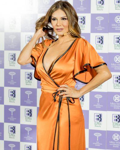 Ivonne Reyes en Miss World