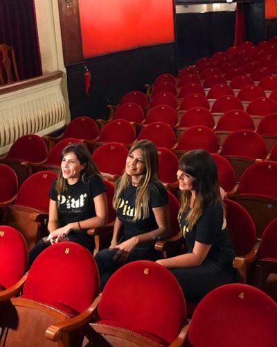 Mariaca Semprún, Ivonne Reyes y Ana María Simon